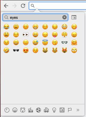 Mac Insert Emojis